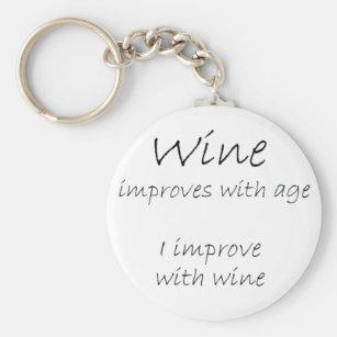 keep calm Winzer Weinbauer Wein Weintrauben Weinernte Schlüsselanhänger lanyard
