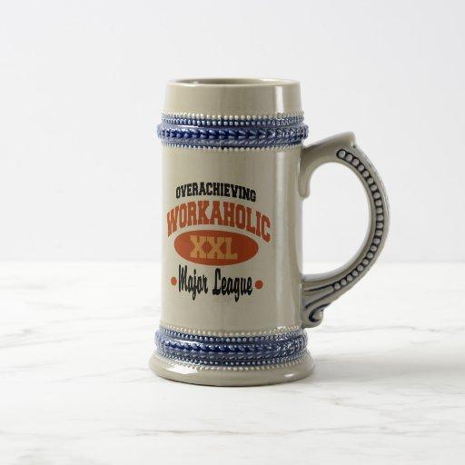 Lustiger Workaholic Kaffee Tassen