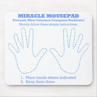 Lustiger Wunder-Computer Mousepad
