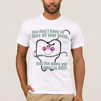 Lustiger Zahnarzt und Zahnarzthelfer T-Shirt
