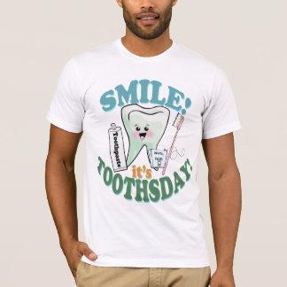 Lustiger Zahnarzt-Zahnarzthelfer T-Shirt