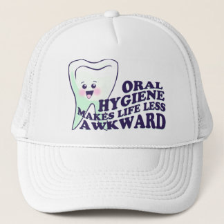 Lustiger Zahnarzthelfer Truckerkappe