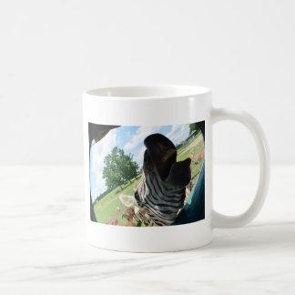 Lustiger Zebra Kaffeetasse