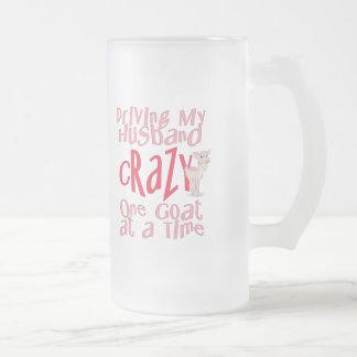 Lustiger Ziegen-Entwurf für Frauen Kaffeetassen