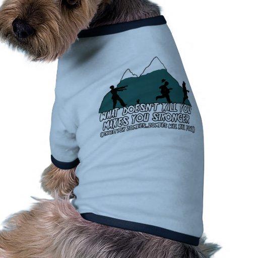 Lustiger Zombie Haustier Tshirts