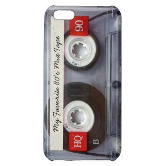 Lustiges Achtzigerjahre Kassetten-Band, iPhone 5C Cover