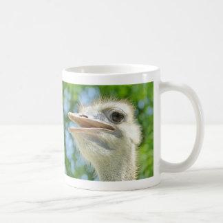Lustiges afrikanisches Ostrich-Porträt - Tasse