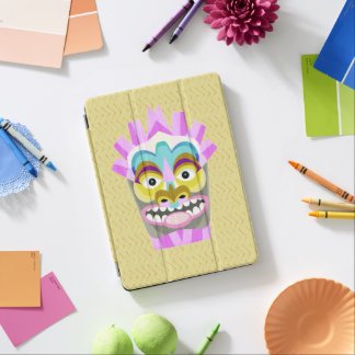 Lustiges Aloha Tiki Hütten-Monster iPad Pro Hülle