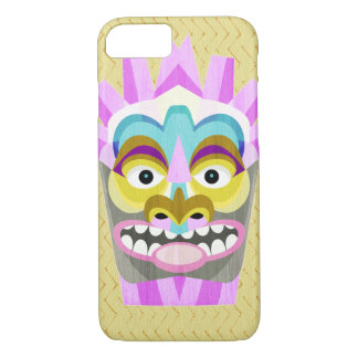 Lustiges Aloha Tiki Hütten-Monster iPhone 8/7 Hülle