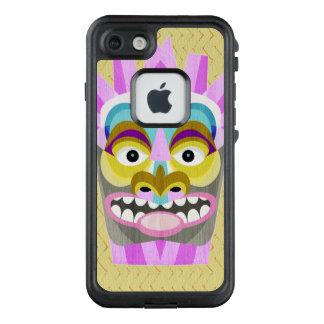 Lustiges Aloha Tiki Hütten-Monster LifeProof FRÄ' iPhone 8/7 Hülle