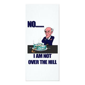 Lustiges Anti über dem Hügel Personalisierte Einladungskarte