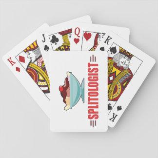 Lustiges Banana split Spielkarten