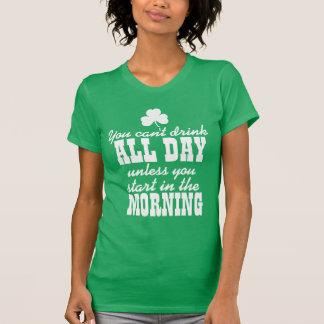 Lustiges Bier-Trinken St. Patricks Tages T-Shirt