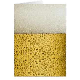 Lustiges Blasen-Bier-Glas-Gold