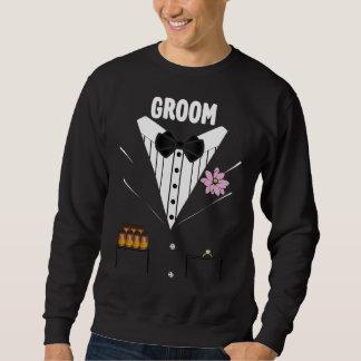 Lustiges Bräutigam-Smoking Sweatshirt