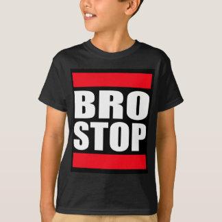 Lustiges BROSTOP AntiBrostep Dubstep T-Shirt
