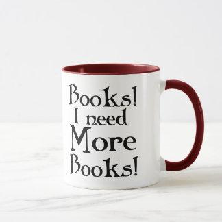 Lustiges Buch-Süchtig-Tasse Tasse