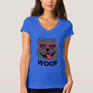 Lustiges Bulldoggen-T-Shirt für Frauen T-Shirt