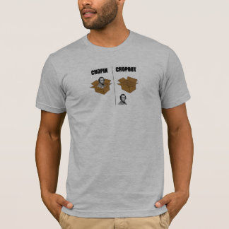 Lustiges Chopin-T-Shirt T-Shirt