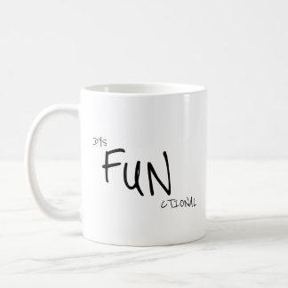 Lustiges dysfunktionelles Büro Tasse