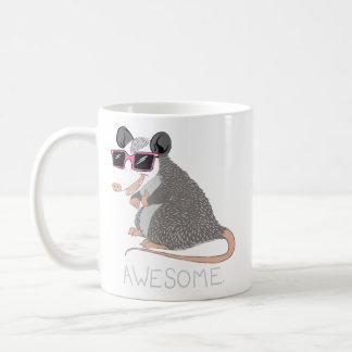 Lustiges fantastisches Opossum Kaffeetasse