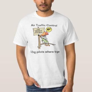 Lustiges Fluglotse-Spaß-Shirt T-Shirt