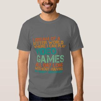 Lustiges Gamers-T - Shirt-Geschenk für Nerds und Tshirts