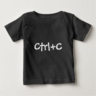 Lustiges Geek-Shirt 1 von 2 für Zwillinge Ctrl+C Baby T-shirt
