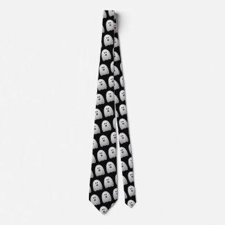 Lustiges Geist-Büro-Arbeits-Kostüm Halloweens Krawatte