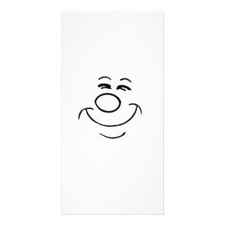 Lustiges Gesicht Personalisierte Photo Karte