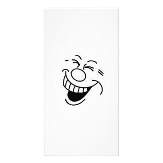 Lustiges Gesicht Photo Grußkarte