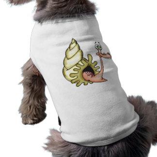 Lustiges Gesichts-Seetier Ärmelfreies Hunde-Shirt