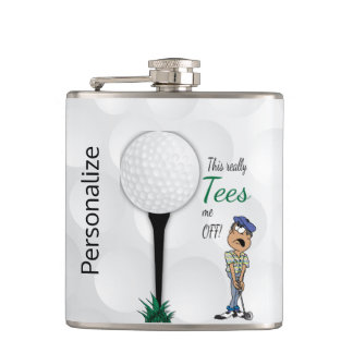 Lustiges Golf spielen - wirklich T-Shirts ich weg Flachmann