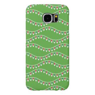 Lustiges grünes Weihnachtsmuster