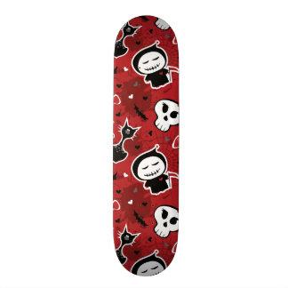 Lustiges Halloween-Charakter-Muster Personalisiertes Skateboarddeck