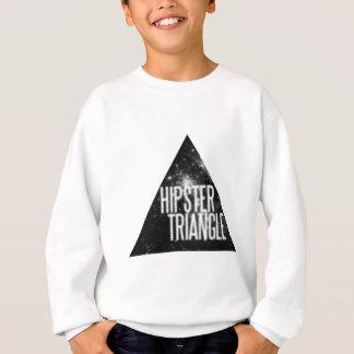 Lustiges Hipster-Dreieck Sweatshirt