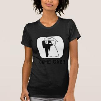 Lustiges Hochzeit Spiel vorbei T-Shirt