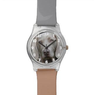 Lustiges HundeFoto-Uhr-Geschenk Armbanduhr