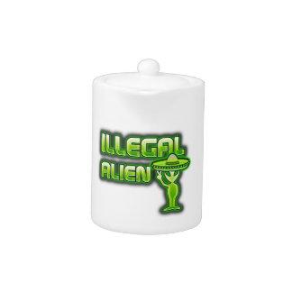 Lustiges illegales alien