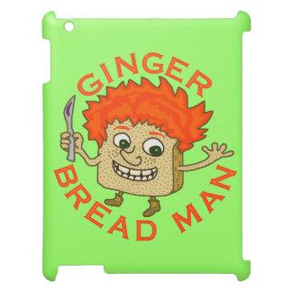 Lustiges Ingwer-Brot-Mann-Weihnachtswortspiel iPad Hülle