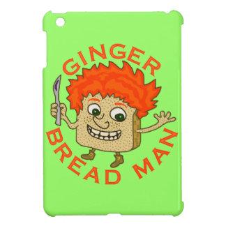 Lustiges Ingwer-Brot-Mann-Weihnachtswortspiel iPad Mini Hülle