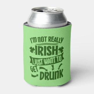 Lustiges irisches Bier St. Patricks Tagesnicht Dosenkühler