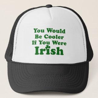 Lustiges irisches Sprichwort Truckerkappe