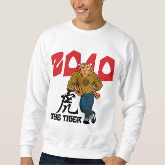 Lustiges Jahr der Männer des Tiger-2010 Sweatshirt