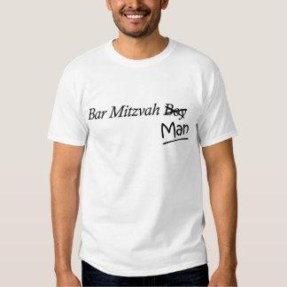 Lustiges Junge-zu-Man-Bar Mizwa-Geschenk T Shirts