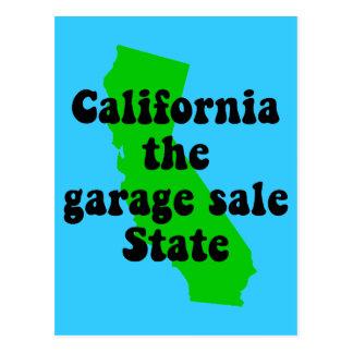 Lustiges Kalifornien Postkarte