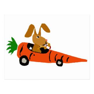 Lustiges Kaninchen des Häschen-TA, das Postkarte