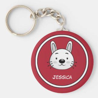 Lustiges Kaninchen-Geschenk Schlüsselband