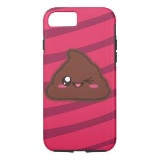 Lustiges Kawaii kacken Argument für iphone7 iPhone 8/7 Hülle