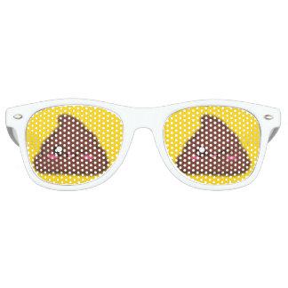Lustiges Kawaii kacken Sonnenbrillen